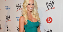 Maryse Ouellet gets married in the Bahamas