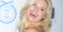 Megan Hilty shows that even pregnancy won't stop her from working