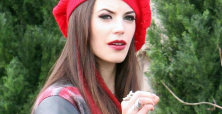 Meghan Ory doubles up with