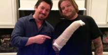 Pawn Stars Corey Harrison gets surprise after missing birthday due to motorcycle accident