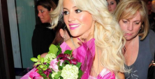 Pixie Lott 'wins' fans in racy lingerie crop top at Autograph Menswear launch