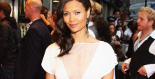 Rogue star Thandie Newton brings attention to home births