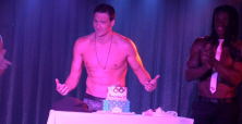 Ryan Lochte topless birthday celebrations at The D Casino Hotel in Las Vegas