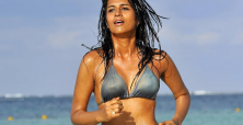 Shraddha Das changes image with 'goon' role in
