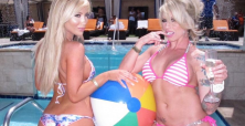Tasha Reign, Brooke Haven and Lolly Ink host major pool party at Sapphire's in Las Vegas