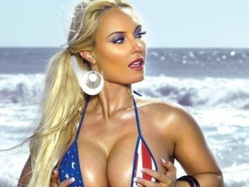Coco Austin stuns and amazes fans with racy pregnancy bikini photo
