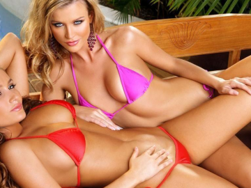 Joanna Krupa emerges as a filmmakers 'best friend' in risque illusion gown