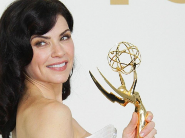 Julianna Margulies discusses the bonus of being the Governor's wife in The Good Wife