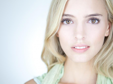 Lilly Roberson, an actress who will soon be popular with filmmakers