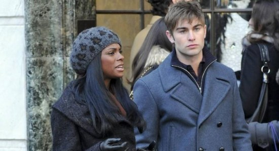 Tika Sumpter with chace crawford