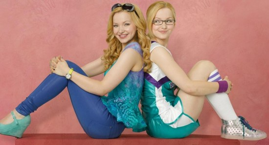 Dove Cameron doing her Liv and Maddie thing