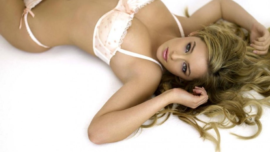 Former model Keeley Hazell still working hard at her acting career