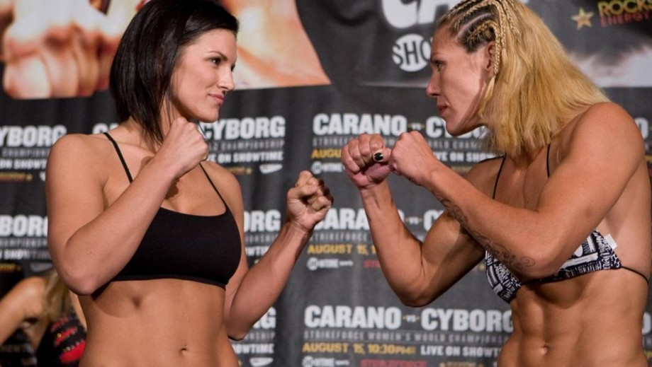 Gina Carano rumoured to 'want' fight with UFC star Ronda Rousey