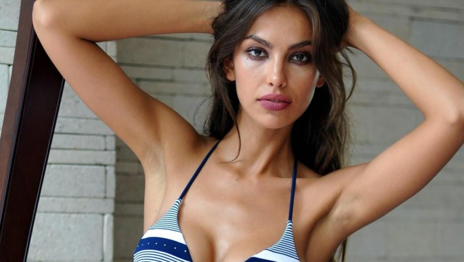 Madalina Ghenea being romanced by star producer Paul Haggis?