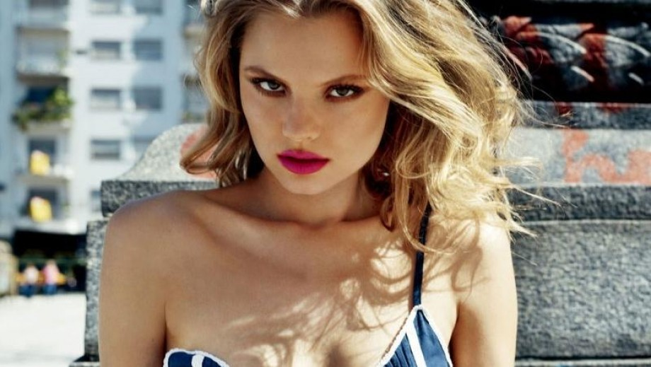 Magdalena Frackowiak rocks 'Crazy in Love' photo for Harpers Bazaar