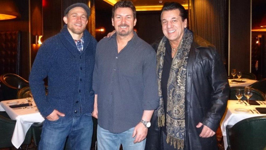 Sons of Anarchy alum Charlie Hunnam and Chuck Zito enjoy night out in Las Vegas