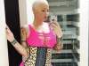 Amber Rose breast reduction fears