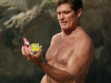 David Hasselhoff worked hard to get in shape for the new Baywatch movie