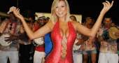 Andressa Urach enjoys some weekend family time