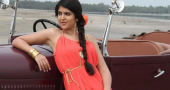 Deeksha Seth keeping busy with new movies Saat Kadam and Vettai Mannan