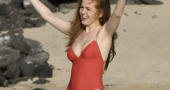 Isla Fisher preparing for the release of her new movie Keeping Up with the Joneses