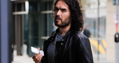 Russell Brand encourages men to be more open about their issues