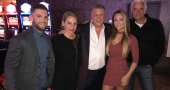 WWE and UFC meets Dancing with the Stars at the D Casino Hotel Las Vegas
