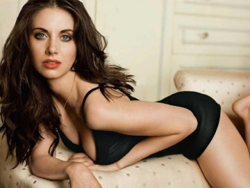 Alison Brie preparing for the release of new movie The Post