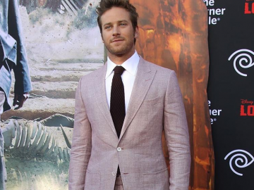 Armie Hammer responds to reports he will play Hal Jordan in Green Lantern Corps.