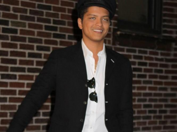 Bruno Mars discusses how he became the man he is today