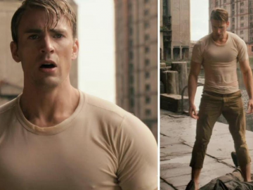 Chris Evans admits that he finds it hard to stay in shape