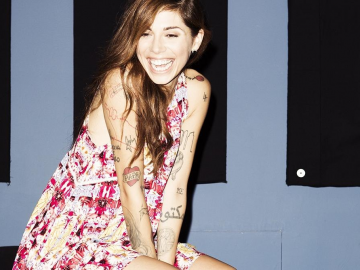 Christina Perri and Paul Costabile get married