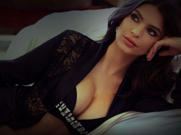 Emily Ratajkowski talks marriage and making movies