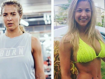 Gemma Atkinson shares some top workout tips