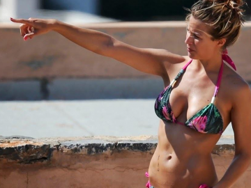 Gemma Atkinson the fans favourite to win Strictly Come Dancing