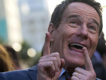 Hollywood star Bryan Cranston is no longer giving autographs