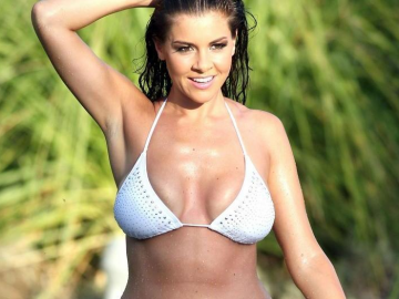 Imogen Thomas preparing for breast reduction