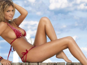 Kate Upton's body down to hard work and dedication