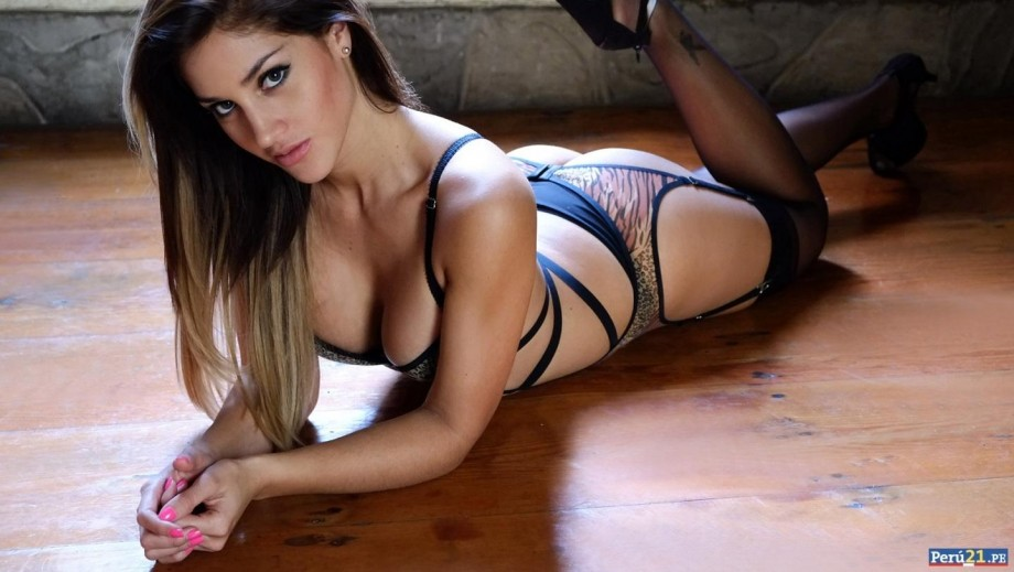 Andrea Cifuentes has one of the best butts in the business
