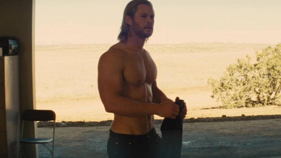 Chris Hemsworth topless scenes are here to stay