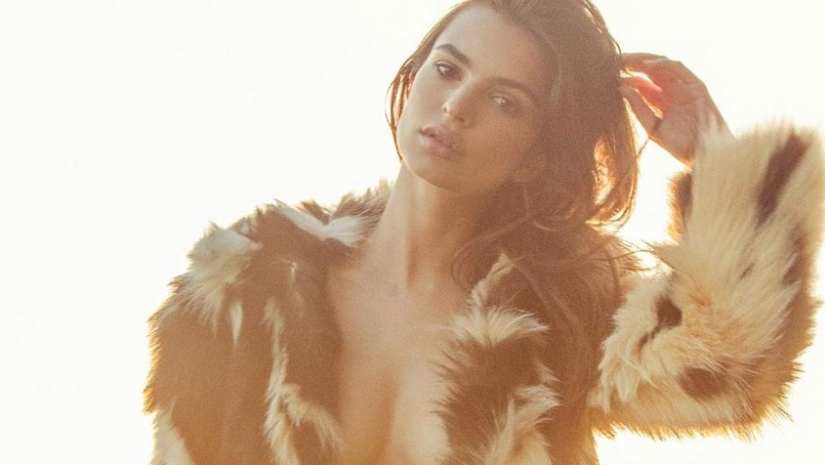 Emily Ratajkowski is enjoying shooting new movie Lying and Stealing in Romania