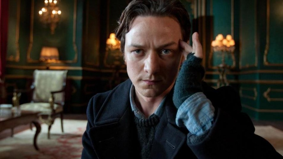 James McAvoy preparing for his latest outing as Professor X