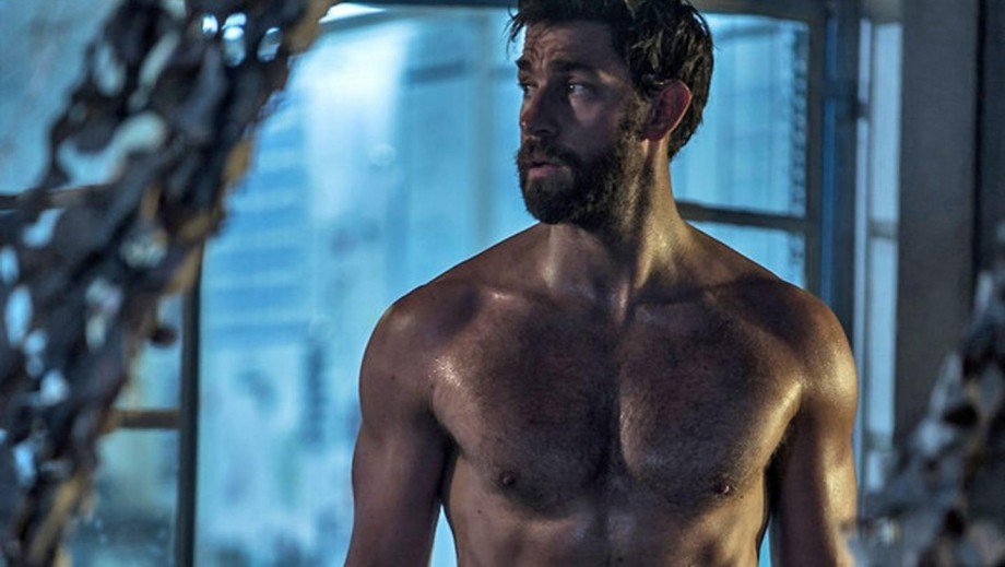 John Krasinski shows his hero side