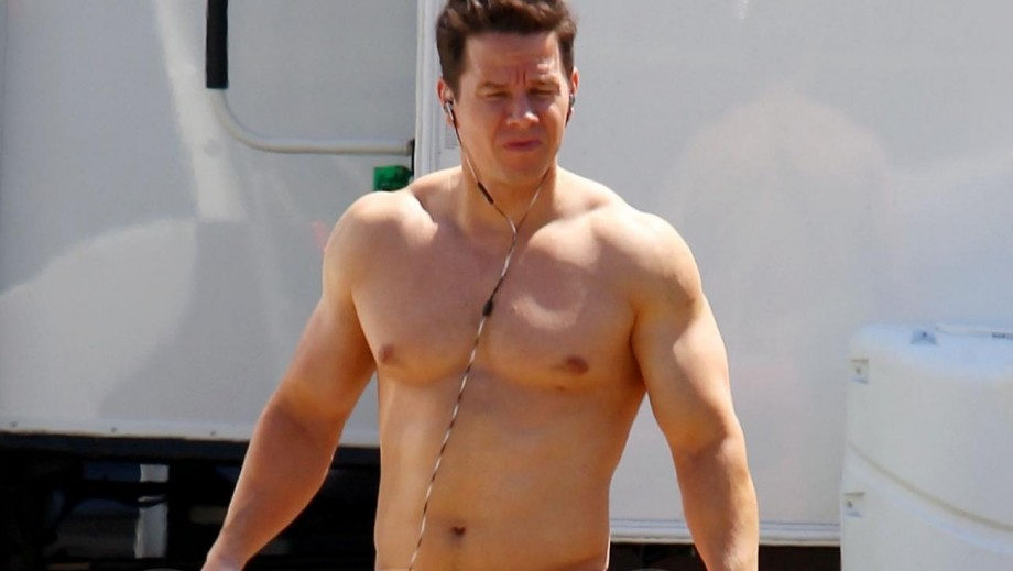 Mark Wahlberg topless pictures annoy his daughters