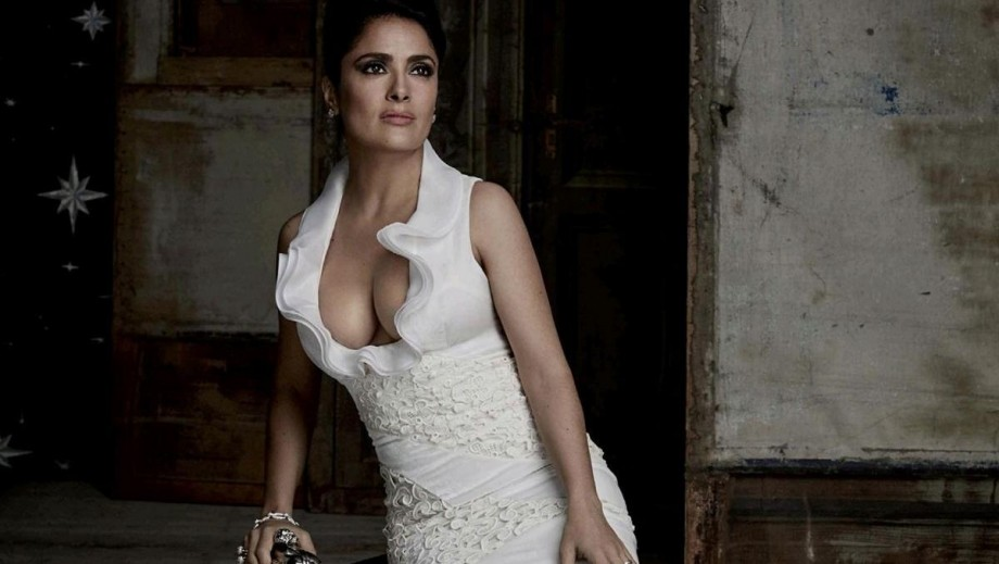 Salma Hayek thought her husband was cheating on her