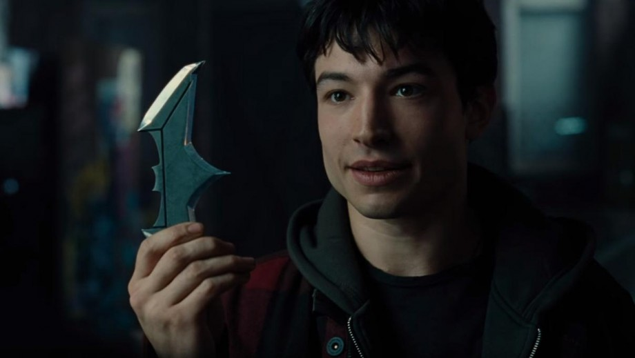 The Flash star Ezra Miller loved sitting in the Batmobile on the Justice League set