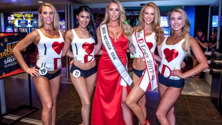 "The 3rd Annual ""Miss D Legs"" 2017 Attracts Crowds to Downtown Las Vegas"
